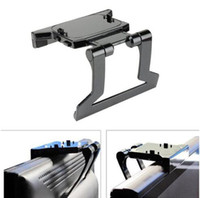 Wholesale NEW New Arrival low price TV Clip Clamp Mount Mounting Stand Holder for Microsoft Xbox Kinect Sensor Drop shipping
