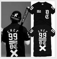 america dark - Dark Tide brand in Europe America DXPE Chef Cha Cha slide men women tshirts cotton round neck T Shirts