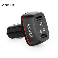 anker charger - Anker PowerDrive QC Quick Charge Car Charger A W Lighter USB Smart Charger V A Fast Charger V V A Chargeur USB