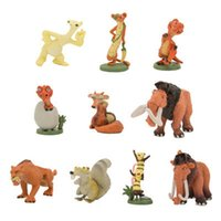 age model - 10pcs Ice Age Action Figure Toys cm PVC Ice Age Figure Model Doll Anime Brinquedos Toys For Kids
