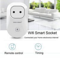 Wholesale Orvibo S20 Smart Wifi Plug Socket Remote Control repeater Plug Socket Intelligent Smart Device Work With Amazon Echo