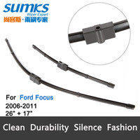 Wholesale Wiper blades for Ford Focus quot quot fit side pin type wiper arms only HY V