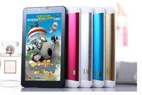 7 pouces Dual Core 3G Tablet PC Support 2G 3G Sim Card slot Téléphone Appel WiFi GPS Bluetooth FM