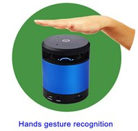 audio motion sensor - 2016 Newest Wireless mini bluetooth speaker N10 Hand Gesture Recognition Motion Sensor MY VISION Bluetooth Speaker With TF card
