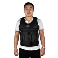 Wholesale Hot Sell SUTEN kg Weighted Vest With Sholder Pads Comfortable Weight Jacket Adjustable Sanda Exercise Boxing Sand Clothing Empty