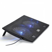 Wholesale iDock B17 Laptop Cooler Notebook Laptop Cooler Pad Aluminum Laptop Cooling Pad Delicate Designed Laptop Cooling Fan