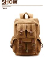Wholesale HOT SLR camera bag Backpack canvas bag Large capacity digital bag
