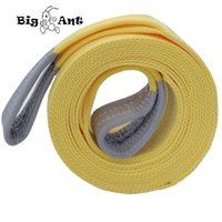 Wholesale Big Ant Nylon Recovery tow Strap rope11023 Lb Capacity Emergency Heavy Duty Towing Ropes quot x