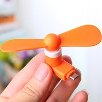 Wholesale New Arrival Mini colorful portable usb fan for mobile phone outdoor summer mini cooling fan High Quality