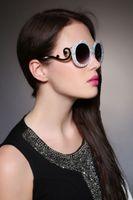 beautifull black women - Women Sunglasses White Colour Butterfly For Ladys Newest Designer Coating Glass New Fashion Beautifull Big Size Outside Gold Sunglasses
