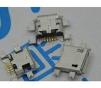 Wholesale 10pcs pin Female Micro USB Connector SMD Fixed feet Widely used in tablet phones and PDA