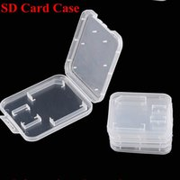 Wholesale TF card Micro SD Card GB GB GB GB GB Holder Storage Box Case Plastic Protector Cover Plastic Case For Micro SD TF Card Packing Box