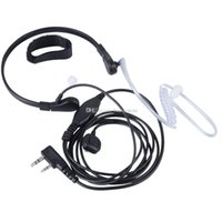 Wholesale Acoustic Earpiece Headset Mic For Baofeng UV5R Puxing PX777 G00136 OSTH