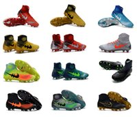 Wholesale 2016 New Top Original Outdoor Magista obra II FG Soccer Shoes Magista Obra Football Boots Soccer Cleats thermoinduction D Shoes