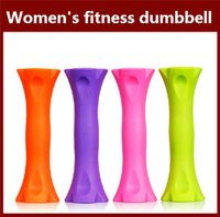 Wholesale Multicolour women s dumbbell kg yoga fitness equipment mini portable Dumbbell water fitness DUmbbell