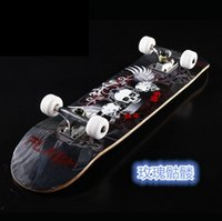 Wholesale The round of the four round of highway double Maple Alice skateboard professional adult walking