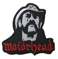 band motorhead - 3 quot Motorhead Lemmy Kilmister Rock Punk retro applique iron on patch heavy metal music band sew on Biker Vest badge