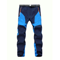 Wholesale Winter Men Warm Softshell Fleece Pants Skiing Snowboard Outdoor Sport Hiking Trousers Grey Camping Climbing Breath Snow Pants