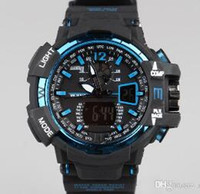 acrylic sports goods - New GA1100 relogio men s g style sport watches LED chronograph wristwatch military watch digital watch good gift for men boy dropship