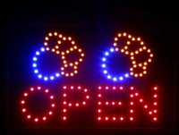 Wholesale 2016 Direct Selling x19 Inch Semi outdoor Ultra Bright Pet Shop signage led open neon sign