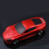 Wholesale Fashion Mini Car Vehicle Shape FM Radio USB Micro SD TF Card MP3 Music Player Stereo Speaker Red For iPod PC Cellphone