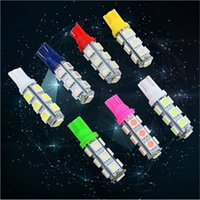 automotive replacement parts - T10 SMD LED Light Car Side Wedge Light Automotive T10 LED Light Bulbs Replacement Parts Car License Plate Lamp Reading Lamp