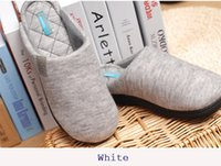 Wholesale Indoor shoes born with warm and flexible feeling shape memory sponge to insole nature rubber to outsole cotton velvet to upside