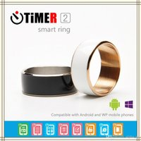Wholesale TiMER NFC Magic Wear Smart Ring waterproof dustproof fallproof For Android Windows Mobile Phone wearable magic small ring Timer2