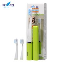 automatic tooth brush - Portable Ultrasonic Sonic Electric Toothbrush With Replacement Brush Heads Automatic Electronic Tooth Brush For Adult SG