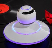 Wholesale Magnetic levitation wireless bluetooth stereo mini mobile computer speakers creative high end gifts