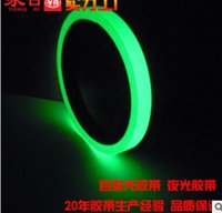 Wholesale glow tape Super bright stage decoration dance dedicated luminous fluorescent tape glue sticker different specification for optional