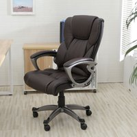 executive chair - PU Leather High Back Office Chair Executive Task Ergonomic Computer Desk