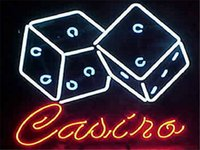 bar card games - 17 quot x14 quot Casino Cards Game Room Poker Real Glass Neon Light Signs Bar Pub Restaurant Billiards Shops Display Signboards