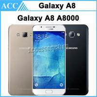 a8000 - Original Refurbished Samsung Galaxy A8 A8000 Dual SIM inch Octa Core GB RAM GB ROM MP Camera G LTE Unlocked Mobile Cellphone DHL