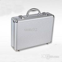 aluminum attache case - Spring Aluminum Frame Briefcase Fashion ABS Solid Portable Men Attache Case Portfolios Organizer Men Briefcase H