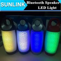 Cheap J2 Pill Pulse Mini Bluetooth Wireless Speaker with LED Flash Light Super Bass Portable Beat HiFi Car Handsfree Sports Subwoofer MP3 Player