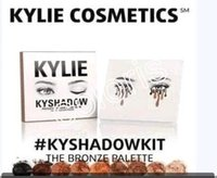Wholesale In Stock New Kylie Jenner Kyshadow Pressed Powder Eyeshadow The Bronze Palette Colors Matte Metallic Kit