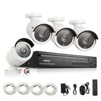 Wholesale ANNKE CH Full P HD Video NVR IP Network PoE IR Indoor Outdoor Security Camera System MP CCTV System