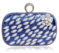 bead bag suppliers - Nice Fashion Lady Girl Bag Bridal Clutch Party Purse Wallet Evening Bag Purse Handbag Shoulder bag Wedding Accessories Supplier