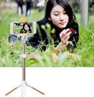 Wholesale 2016 hotsale new Generation Bluetooth Selfie Stick Monopod Tripod Stand Self Portrait Extendable For iPhone Plus S C Samsung Note