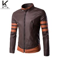 Wholesale Fall European High Grade Motorcycle Leather Jackets men s Leather jacket Jaqueta de couro Masculina Mens Leather Jackets F1347