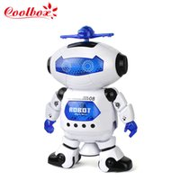 astronaut model - Children Electronic Walking Dancing Space Dancing Humanoid Robot Toy With Light Robot Kids Cool Astronaut Model Music Light Toy