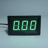 Приборная панель амперметр ампера Отзывы-Оптово-Мини цифровой измеритель Amp ток ампер метр панели DC Амперметр 0.00-9.99A источник питания DC4.5-28V с зеленым светодиодным дисплеем