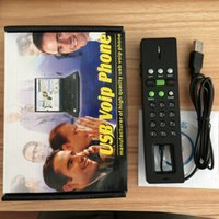 Wholesale Computer Internet Web Chatting VOIP USB Phone MicroPhone MIC SKYPE Dial Telephone for MSN YAHOO MESSAGER Freecall Siphone X PRO