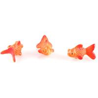 animal garden statues - Super mini Animal Gold Fish Miniature Dollhouse DIY Micro Landscape Garden Terrarium Statue Home Decor Ornament