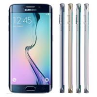 Wholesale Original Refurbished Samsung Galaxy S6 G920F G920A G920V Unlocked inch Octa Core GB RAM GB ROM MP Camera LTE G Smart Phone