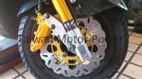 Wholesale Taiwan DY front shocks mm DISC Frando HF6 Piston calipers fit YAMAHA ZUMA BWS BWSX NEW CYGNUS RD forks oversize