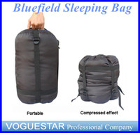 Wholesale Sleeping Bag BlueField Outdoor Camping Nylon Lightweight Compression Stuff Sack Bag Outdoor for Camping Hiking Sleeping OUT032