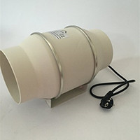 air booster fans - 4 quot Hydroponic Air Duct Booster Fan Blower