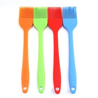 barbecue utensils - Silicone Basting Pastry Bbq Brushes Set of Colorful Durable Attractive Heat Resistant Kitchen Utensils Dishwasher Safe Soft